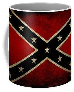 Battle Scarred Confederate Flag Coffee Mug