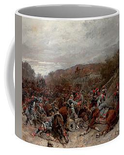 Battle Scene From The Franco-prussian War Coffee Mug