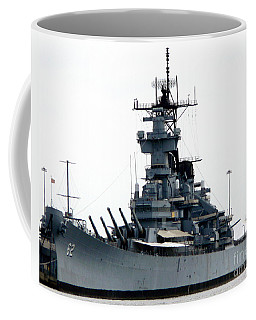 Battleship New Jersey Coffee Mug by Kevin Fortier