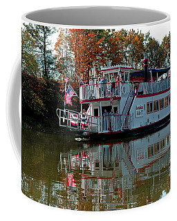 Coffee Mug featuring the photograph Bavarian Belle Riverboat by LeeAnn McLaneGoetz McLaneGoetzStudioLLCcom