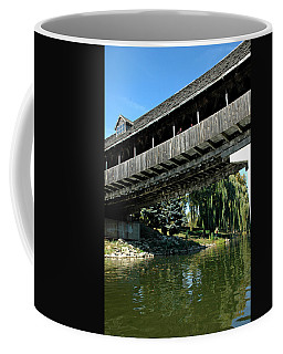Coffee Mug featuring the photograph Bavarian Covered Bridge by LeeAnn McLaneGoetz McLaneGoetzStudioLLCcom