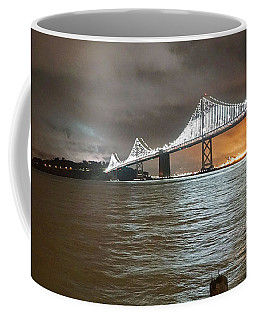 Bay Bridge Night Coffee Mug