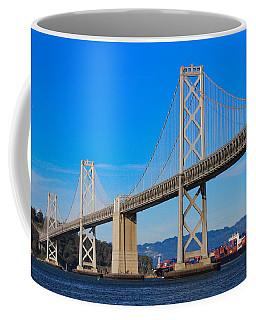 Bay Bridge With Apl Houston Coffee Mug