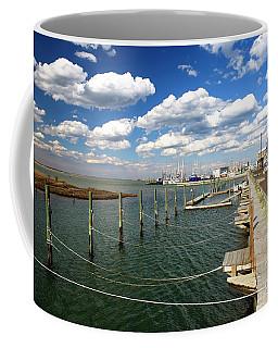 Bay Clouds On Long Beach Island Coffee Mug