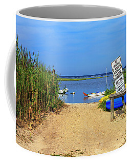 Coffee Mug featuring the photograph Bay Entry by John Rizzuto