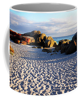 Bay Of Fires Sunrise Coffee Mug by Lexa Harpell