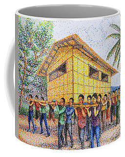 Bayanihan 2 Coffee Mug by Cyril Maza