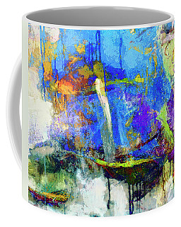 Coffee Mug featuring the painting Bayou Teche by Dominic Piperata