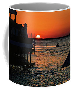 Bayou Vista Sunset Coffee Mug