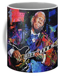 Bb King Coffee Mug by Richard Day
