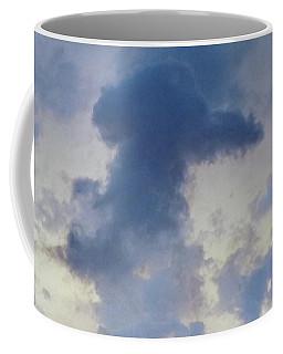 Blue Bunny Cloud  Coffee Mug