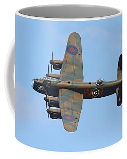 Bbmf Lancaster Bomber Coffee Mug by Ken Brannen
