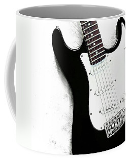 Electric Guitar Coffee Mug by Jul V