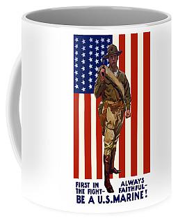 Be A Us Marine Coffee Mug