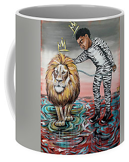 Be Courageous My Son Coffee Mug
