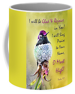 Be Glad And Rejoice Coffee Mug