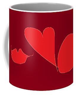 Be My Valentine Coffee Mug by Nancy Kane Chapman