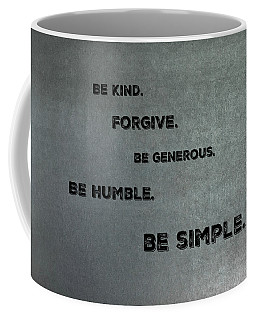 Be Simple Coffee Mug