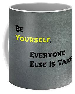 Be Yourself #1 Coffee Mug
