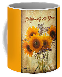 Be Yourself And Shine Coffee Mug