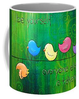 Be Yourself - Birds Coffee Mug