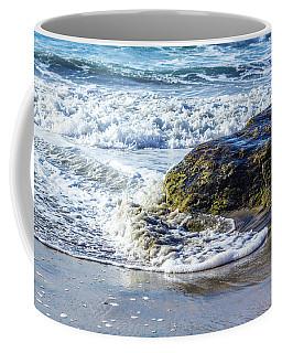 Wave Around A Rock Coffee Mug