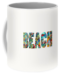 Beach Art - Beachy Keen - By Sharon Cummings Coffee Mug