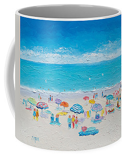 Beach Art - Fun In The Sun Coffee Mug by Jan Matson