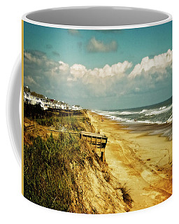 Beach At Corolla Coffee Mug