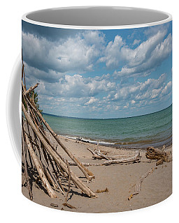Beach At Doctors Park I Coffee Mug