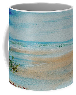 Beach At High Tide Coffee Mug