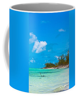 Beach At North Bimini Coffee Mug