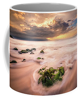 Beach At Paia Coffee Mug