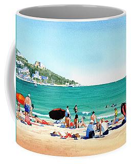 Beach At Roses, Spain Coffee Mug