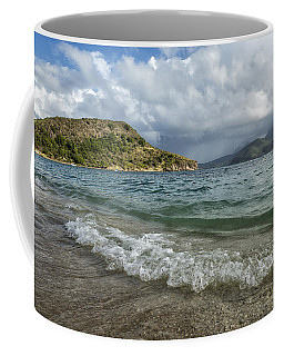 Beach At St. Kitts Coffee Mug