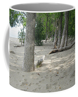 Beach At The Lake Coffee Mug