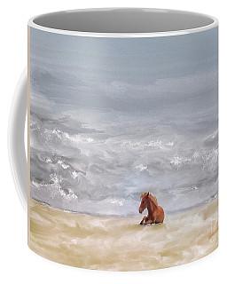 Coffee Mug featuring the photograph Beach Baby by Lois Bryan