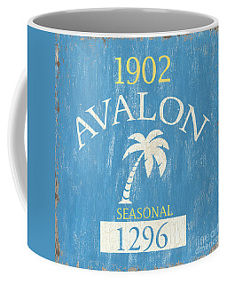Beach Badge Avalon Coffee Mug