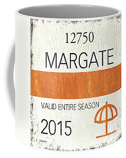 Beach Badge Margate Coffee Mug