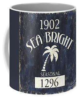 Beach Badge Sea Bright Coffee Mug