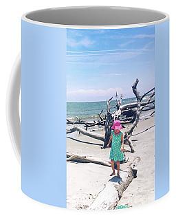 Beach Balancing Act Coffee Mug