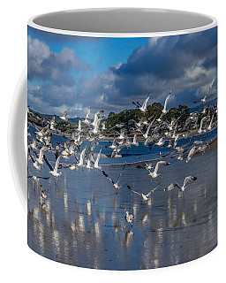 Beach Birds Coffee Mug