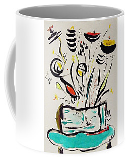 Beach Blue Table Coffee Mug