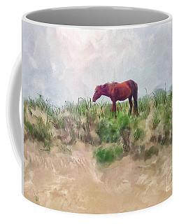 Coffee Mug featuring the digital art Beach Boy by Lois Bryan