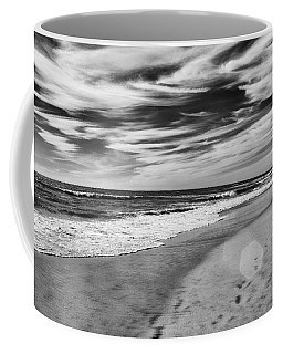 Coffee Mug featuring the photograph Beach Break by Alison Frank