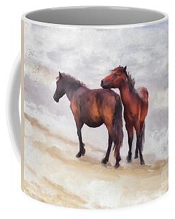 Coffee Mug featuring the photograph Beach Buddies by Lois Bryan