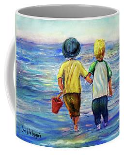 Beach Buddies Coffee Mug by Loretta Luglio