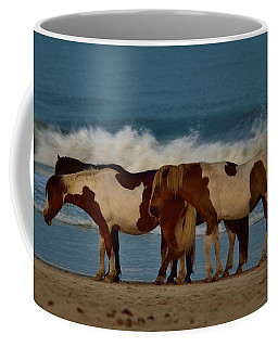 Beach Bum Ponies Coffee Mug