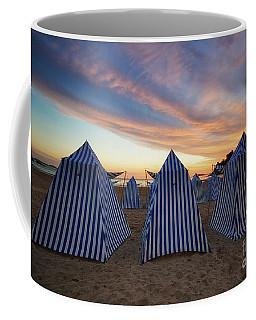 Beach Cabins Coffee Mug