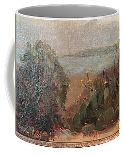 Beach Cactus Coffee Mug